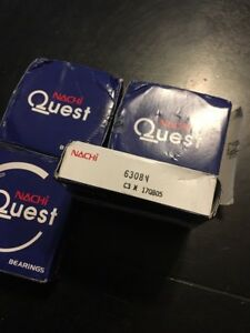 Nachi Quest Bearing Lot Of 4 6308n C3 170805