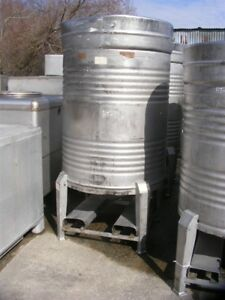 1 000 Liter 250 264 Gallon Stainless Steel Sanitary Tank Beer Wine Tote Keg