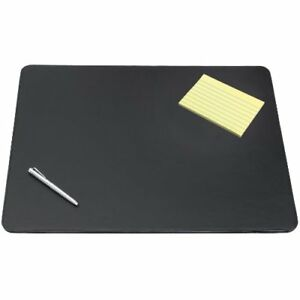 New Artistic 24 X 38 Sagamore Executive Designer Desk Pad Black Free Shipping