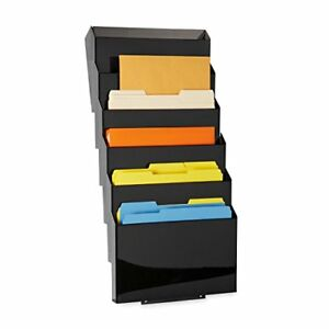 New Rubbermaid Classic Wall Mounted File Sorter 7 Pocket L16663 Free Shipping