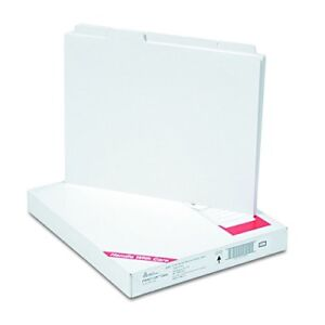 New Avery Copier Tab Dividers Unpunched 5 Tab White 30 Sets 20405 Free Shipping