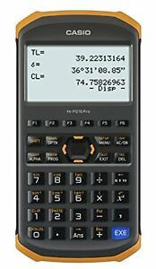 Casio Civil Engineering Surveying Specialist Calculator Fx fd10 Pro F s W track