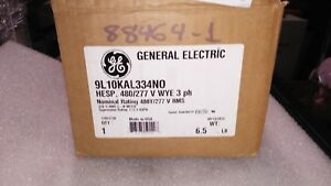 Ge General Electric 9l10kal334no 3 Phase 4 Wire High Energy Surge Protector