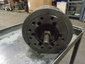 4010 Buck 10 Hydraulic Cnc Lathe Chuck A8 6 Spindle Mount