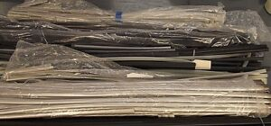 Huge Lot Black And Clear Heat Shrink Tubing Different Sizes Look