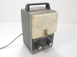 Heathkit Im 11 Vacuum Tube Volt Meter Vtvm For Parts Or Restoration Sn 530 6950a