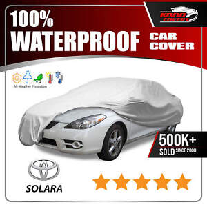 Fits Toyota Solara Car Cover Ultimate Full Custom Fit All Weather Protection