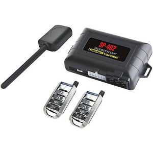 Car Alarm Security Sys Remote Start Keyless Entry Engine Disable 2 Transmitters