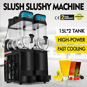 Slush Making Machine Drink Slushy Smoothie Maker 110v Low Noise Snow Frozen