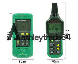 Ms6818 Mastech Advanced Wire Tracker Cable Metal Pipe Locator Detector Tester