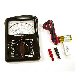 Triplett Model 630 Analog Multimeter