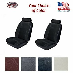 1979 80 Fox Body Mustang Low Back Front Bucket Seat Upholstery All Models