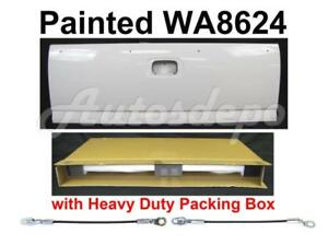 Painted Wa8624 Summit White Tailgate Cable For Silverado Fleetside 1999 2006