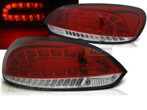 Pair Of Tail Lights For Vw Scirocco 3 Iii 2008 2014 Red White Led Ca Ldvwi1wd Xi