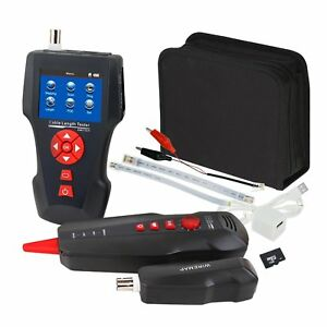 Handheld Telephone Cable Length Wire Tracker Ethernet Tester Stp utp 5e 6e