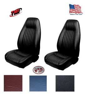 1981 84 Fox Body Mustang Coupe High Back Bucket Seat Upholstery Any Color F R