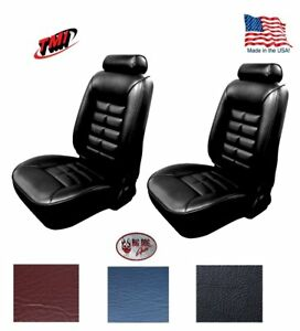 1981 92 Fox Body Mustang Low Back Front Bucket Seat Upholstery any Color tmi