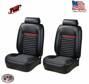 1981 93 Fox Body Mustang Low Back Mach I Style Front Bucket Seat Upholstery