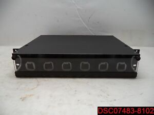 Lynn Electronics 2u Fiber Optic Rackmount Enclosure Panel Frmp 2u Wc 2u6p