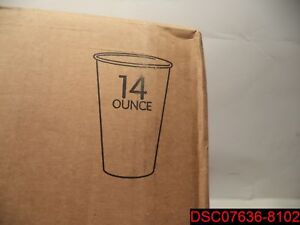 Qty 1000 cups International Paper 14oz Walmart Popcorn Shrimp Cups Dmr 14