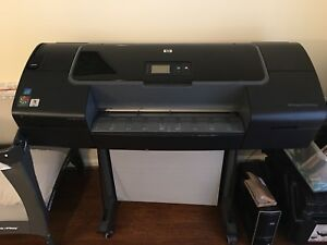 Hp Designjet Z2100 Photo Inkjet Wide Large Format 24 Color Printer Model Q6675a
