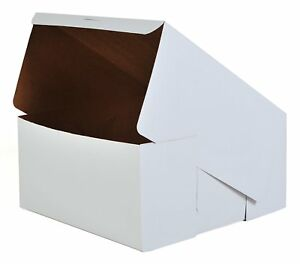 Southern Champion Tray 0989 Clay coated Kraft Paperboard Bakery Box case Of 50