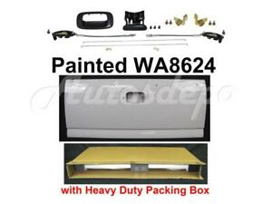 Painted Wa8624 White Taigate Hardware Kits For Silverado 1999 2006 Stepside Bed