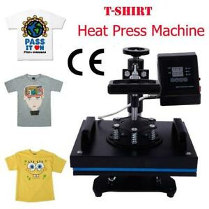 12 x10 transfer Sublimation T shirt Heat Press Machine W lcd Temperature Control
