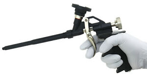 Foam Applicator Gun Teflon Coated Spray Foam Gun With Self Cleaning Needle