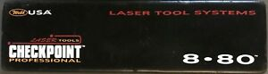 Webb Checkpoint 8 80 Laser Torpedo Level 8 Excellent Condition