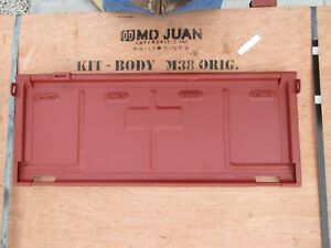 1950 1952 M38 Body Tail Gate Willys Kaiser Jeep Mtp001 Cj2a