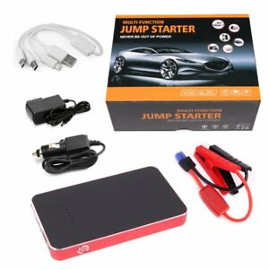New 7500mah Car Jump Start Emergency Charger Booster Power Bank Battery Led Usb