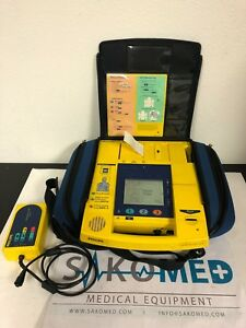Philips Heartstart Xlt M24808 Defib monitor recorder With Charger