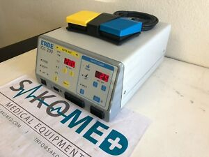 Erbe Icc 200 Electrosurgical Unit With Foot Pedal tested