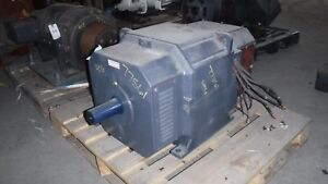 150 Hp Dc Reliance Electric Motor 1750 Rpm 406at Frame Dp 500 V