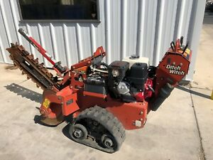 2015 Ditch Witch Rt16 14hp 36 Walk Behind Tracked Trencher