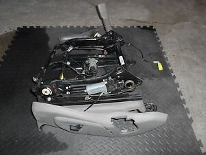 05 06 07 08 09 10 Jeep Grand Cherokee 8 Way Power Seat Track Driver Lh