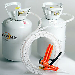 Tiger Foam 200bd ft Closed Cell E 84 Spray Foam Insulation Kit Free Shipping