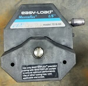 Cole Parmer Masterflex Pump Head Peristaltic Easy Load 7518 60