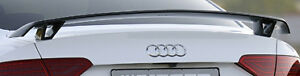 Audi A5 S5 B8 Coupe Or Convertible Rieger Brand Oem Rear Trunk Decklid Spoiler