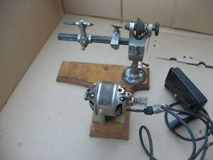 Wolf Jahn Watch Makers Jewelers Lathe With Motor