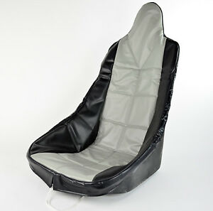 Premium High Back Seat Cover Grey Fits Most Fiberglass Seats Dunebuggy Vw