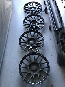 Bbs Rs2 Rsii Rs700 Rs701 18 Faces Concave Deep 5x120 Bmw