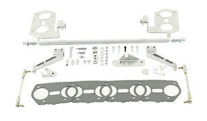 Premium Dual Carb Linkage Kit For Weber Idf Hpmx Dunebuggy Vw