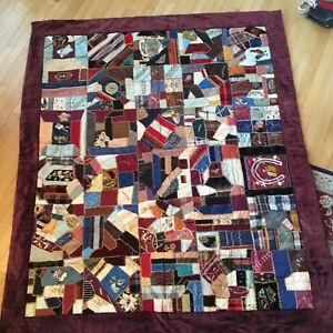 Antique Crazy Quilt 1900