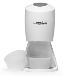 Hawaiian Shaved Ice S900a Electric Shaved Ice Machine Features 2 Round Block I