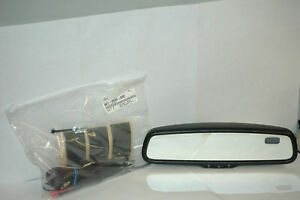Genuine Nissan Xterra 999l1kt000 Auto dimming Rear View Mirror With Compass