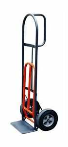 Milwaukee Hand Trucks 47515s D handle Truck With 10 inch Solid Puncture Proof