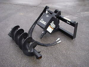 Bobcat Skid Steer Attachment Lowe 1650 Classic Auger Drive 15 Bit Ship 199