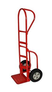 Milwaukee Hand Trucks 33045 P handle Truck With 10 inch Puncture Proof Tires